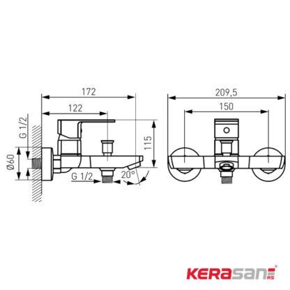 baterija-za-kadu-linija-alba-BLB1VL-skica-ksn