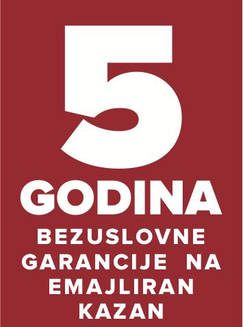 GARANCIJA 5 god. na kazan