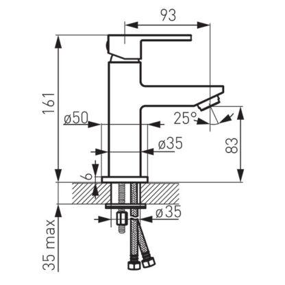 jednorucna-baterija-za-umivaonik-crna-BZI2BL-skica