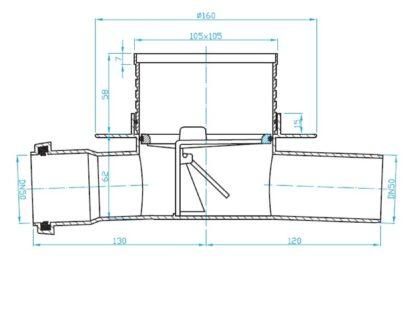 prolazni-slivnik-f50-SI5TC01-skica